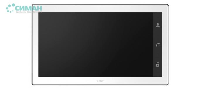 Видеодомофон ARNY AVD-1040 2MPX белый