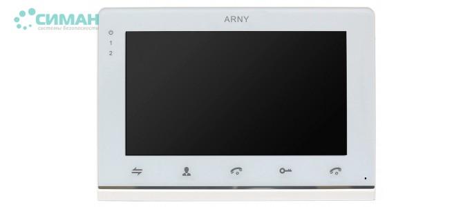Видеодомофон ARNY AVD-710MD белый