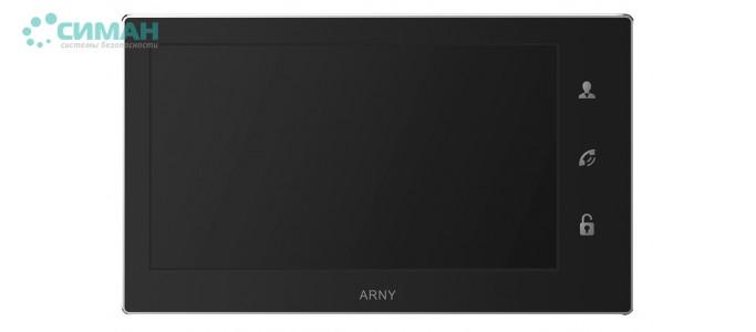 Видеодомофон ARNY AVD-740 черный