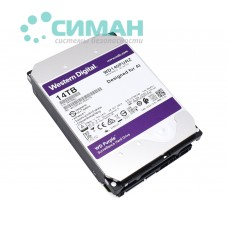 "Жесткий диск 3.5"" 14TB Western Digital Purple (WD140PURZ)"