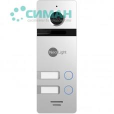 Вызывная панель NeoLight MEGA/2 FHD серебро