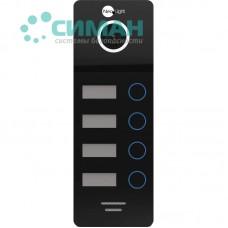 Вызывная панель NeoLight MEGA/4 FHD черный