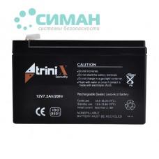 Аккумуляторная батарея АКБ 7.2Ач, 12 В