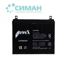 Аккумуляторная батарея АКБ 75 Ач, 12В