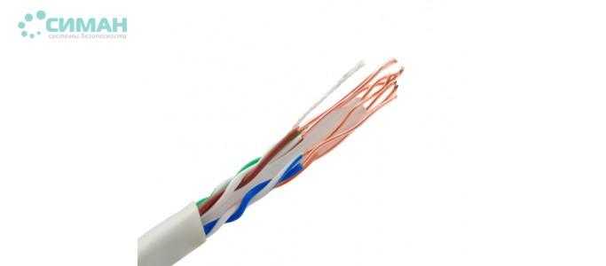 Витая пара FTP PVC Cat6Е 0,56 мм (305 м)
