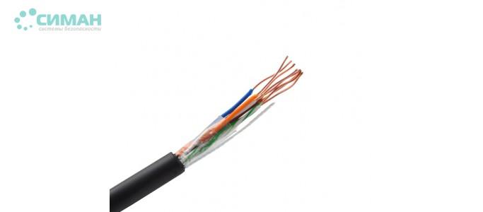 Витая пара UTP LDPE Outdoor + проволока 0,51 мм 305 м