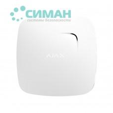 Беспроводной датчик детектирования дыма Ajax FireProtect Plus белый