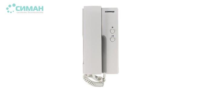 Аудиотрубка Commax DP-4VHP белый