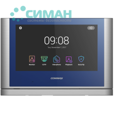 Видеодомофон Commax CDV-1024MA Blue + Dark Silver