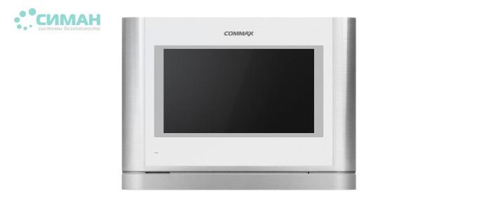 Видеодомофон Commax CDV-704MA White + Silver