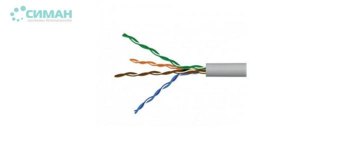 UTP cat 5E 2PR 305м=1 бхт (0.50мм) CCA кабель витая пара Step4Net