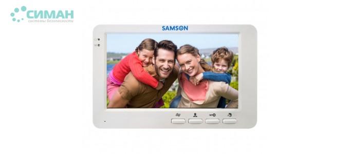 Видеодомофон Samson SW-75H белый