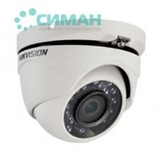 1МП Turbo HD видеокамера Hikvision DS-2CE56C0T-IRM (2.8 мм)